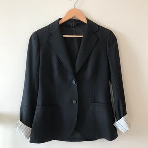 """Theory Two-Button Single-Breasted Blazer """"Cora"""""""